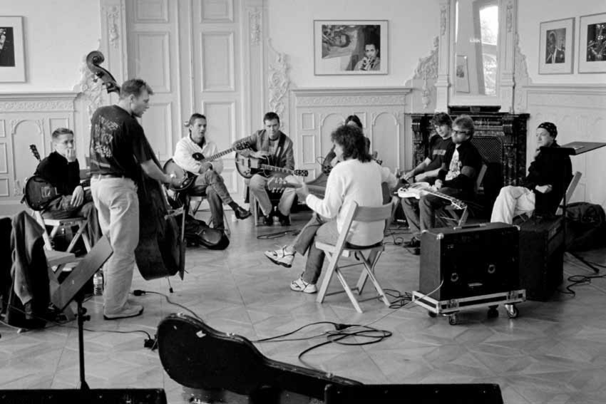Guitarworkshop with Pat Metheny at 2003 Jazzbaltica