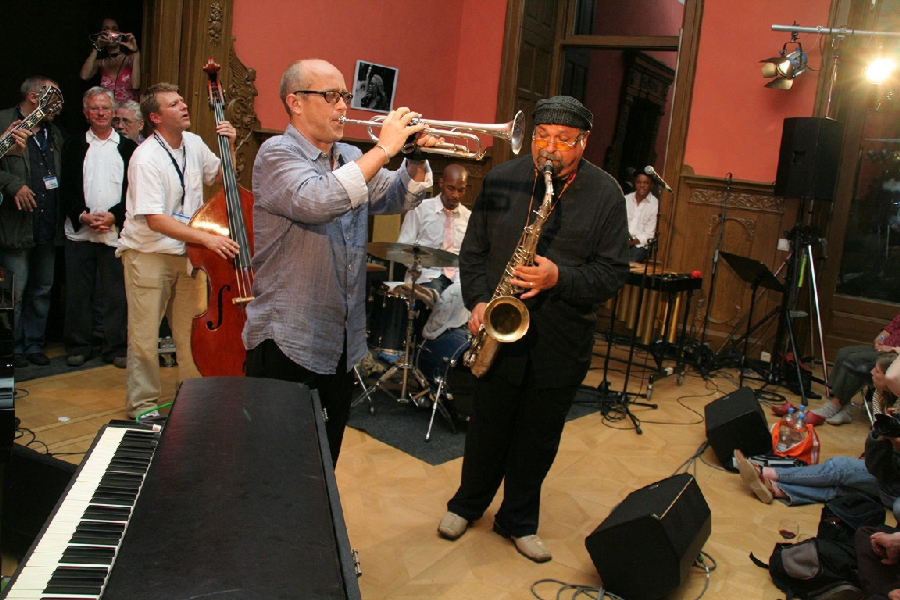 Dave Douglas, Eric Harland and Joe Lovano