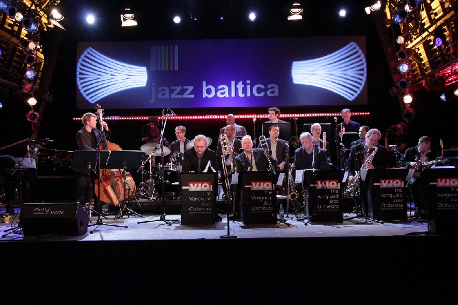 With the Vanguard Jazz Orchestra 2009
